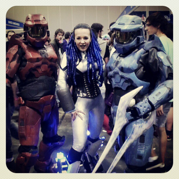 CYBER ANGEL AT ARMAGEDDON 2011